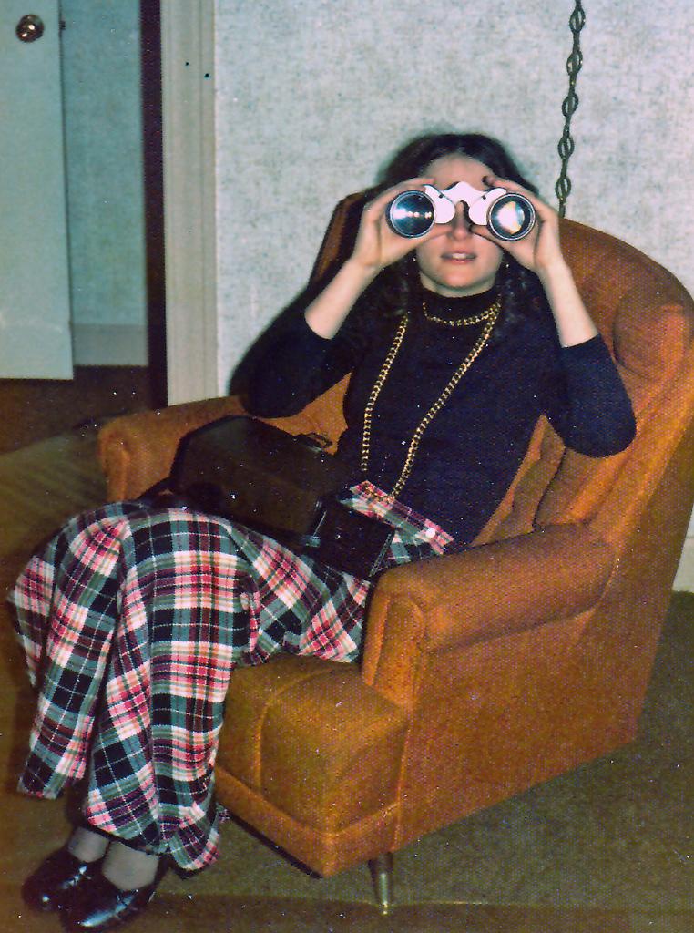 Laura's binoculars